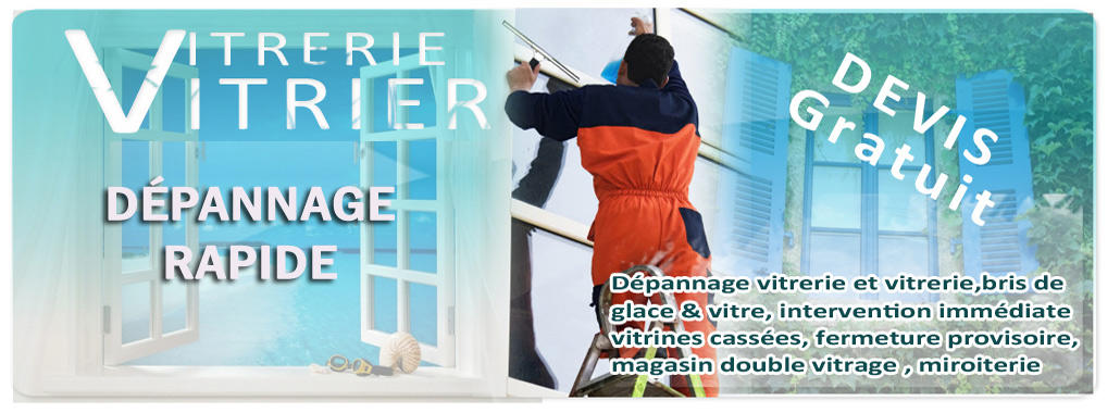 Vitrier Lisses - Allo depanage prix double vitrage m2 Lisses 01.69.96.83.73